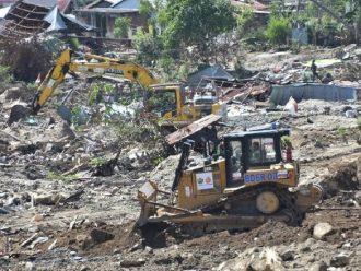 Beberapa Ratus Korban Gempa Serta Likuifaksi Di Kota Palu Masih Bertahan Di Tenda Darurat